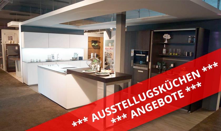 Angebote Ausstellungsküchen ... im Küchenstudio zwischen Sigmaringen Ravensburg - König Küchen in Mengen