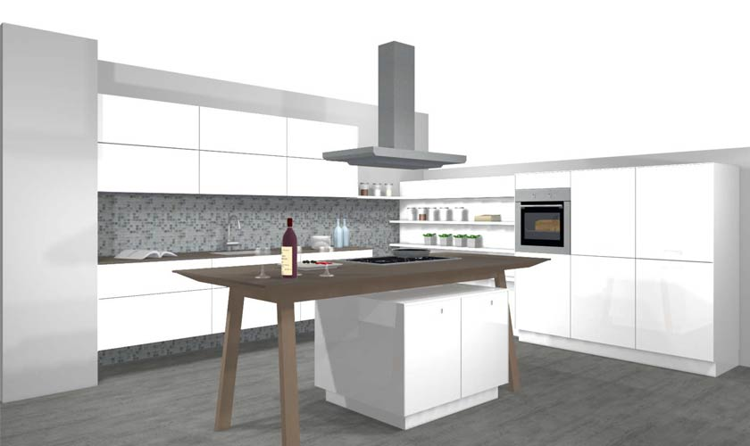 Küchenplaner Küchenplanung  ... im Küchenstudio zwischen Sigmaringen Ravensburg - König Küchen in Mengen